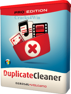 DigitalVolcano Duplicate Cleaner Pro 4.1.2 Crack [Latest]