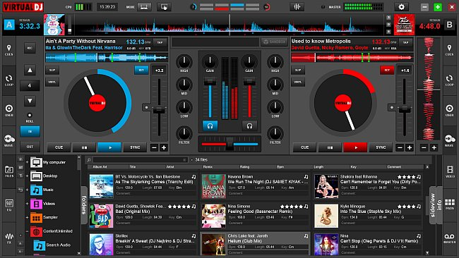 Virtual DJ Pro 7 free download