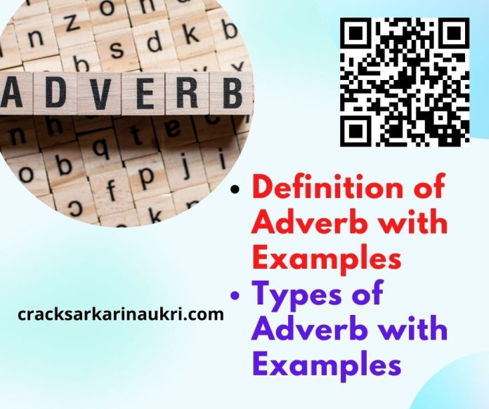 Adverb and It's type