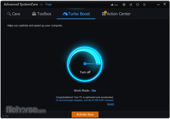 Advanced SystemCare Free Full Version