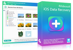 4Videosoft iOS Data Recovery 8.0.50 Crack Download