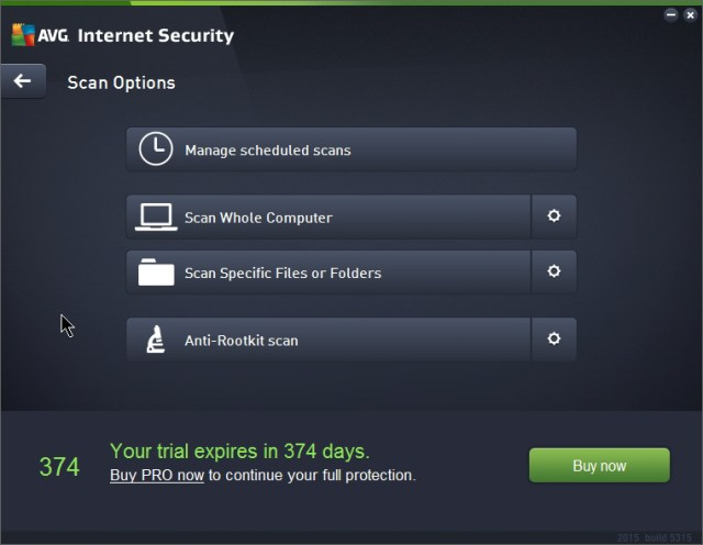 AVG Internet Security 2016 16.51.7496