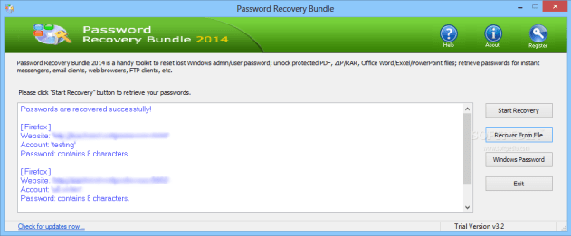 Password Recovery Bundle 2016 Crack Key Free