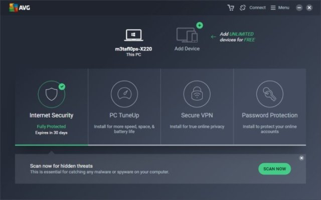 AVG Internet Security 2018 Crack key
