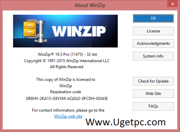 registration codes for winzip