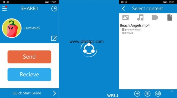 SHAREit App- pic-UGetpc