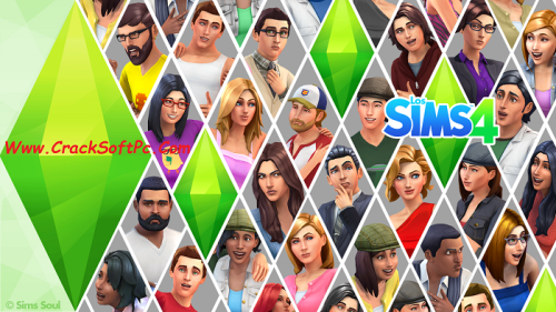 The Sims 4 Free Download For PC-Cover-CrackSoftPC