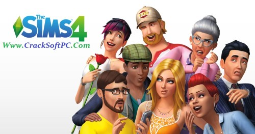 Sims 4 Crack 2017 Download Free-Cover-CrackSoftPC