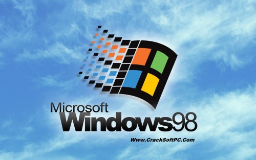 Windows 98 ISO Download-Cover-CrackSoftPC