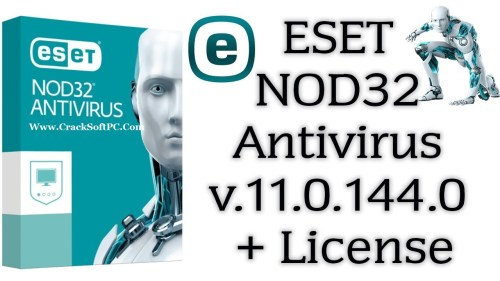 ESET NOD32 Antivirus License Key-Cover-CrackSoftPC