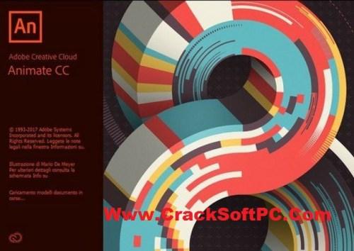 Adobe Animate CC Download 2018 Crack-Cover-CrackSoftPC