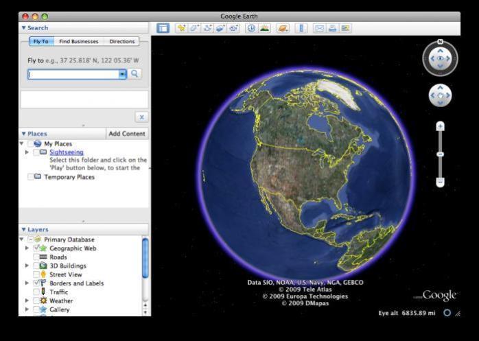 Google Earth Pro 2017