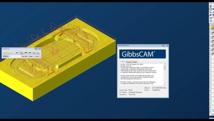 GibbsCAM windows