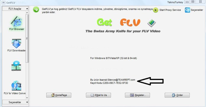 GetFLV Windows