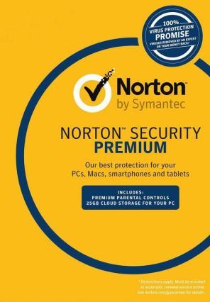 Norton Security Premium 2019 22.17.3.50