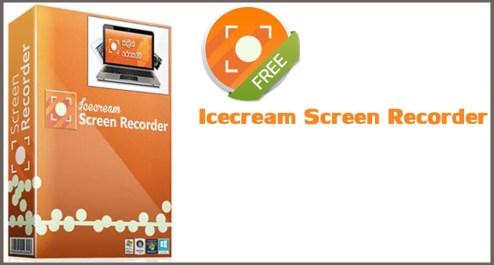 Icecream Screen Recorder Pro Windows