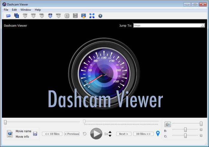 Dashcam Viewer