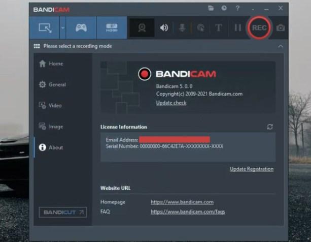 Bandicam 5 Windows