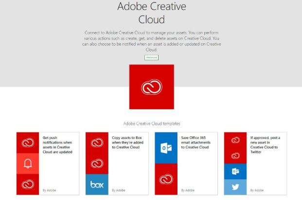 Adobe Creative Cloud windows