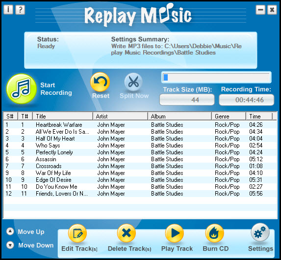 Replay Music windows