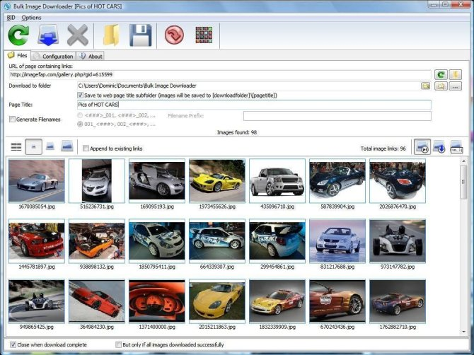 Bulk Image Downloader latest version