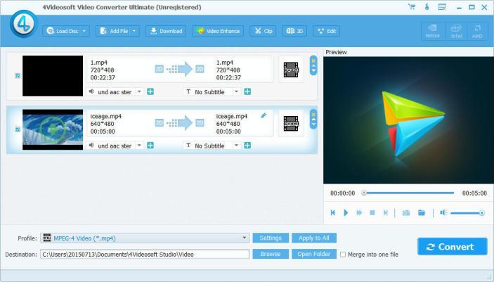 4Videosoft Video Converter Ultimate windows