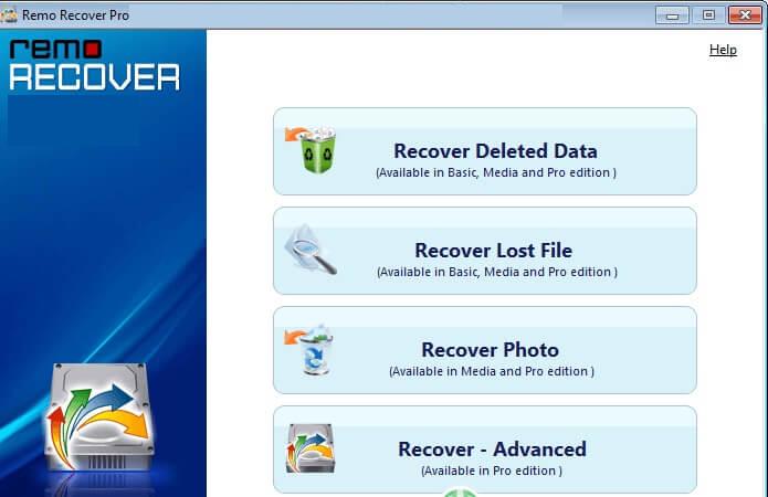 Remo Recover PRO latest version
