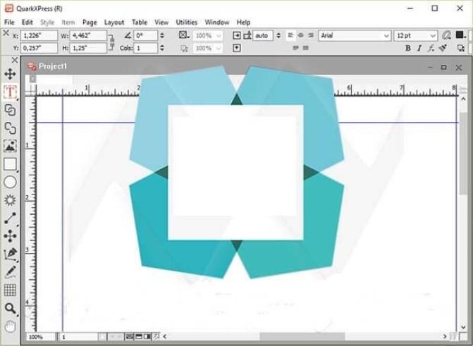 QuarkXpress windows