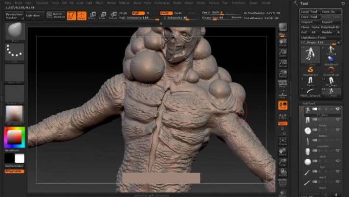 ZBrush 4R8 P3 windows