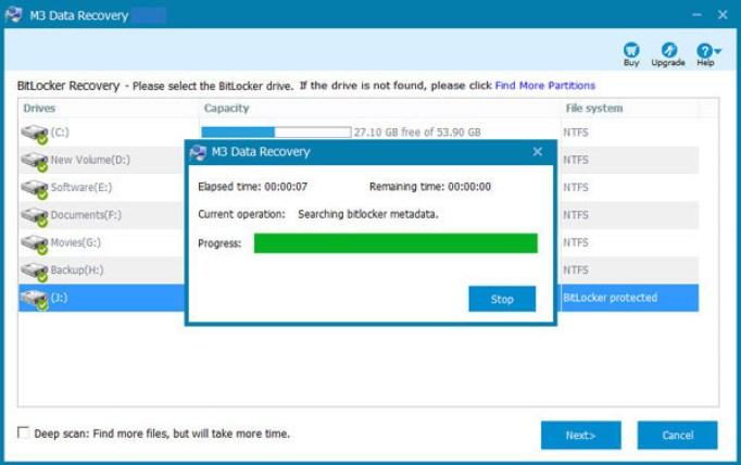 M3 Data Recovery windows