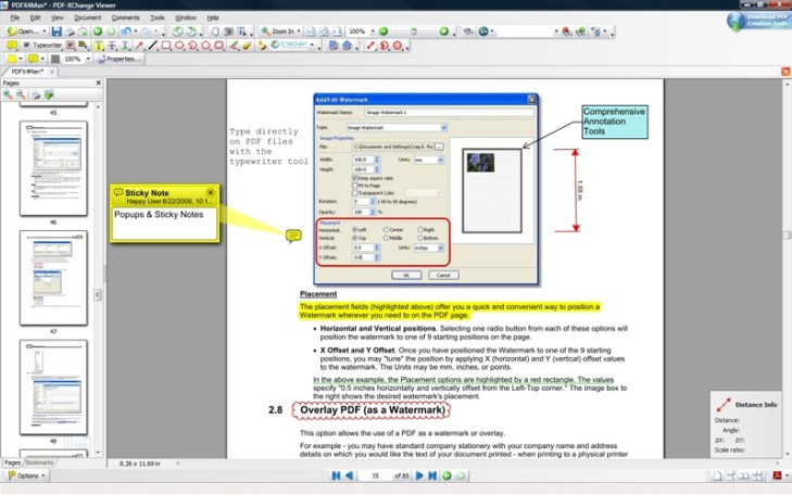 PDF-XChange Viewer PRO windows