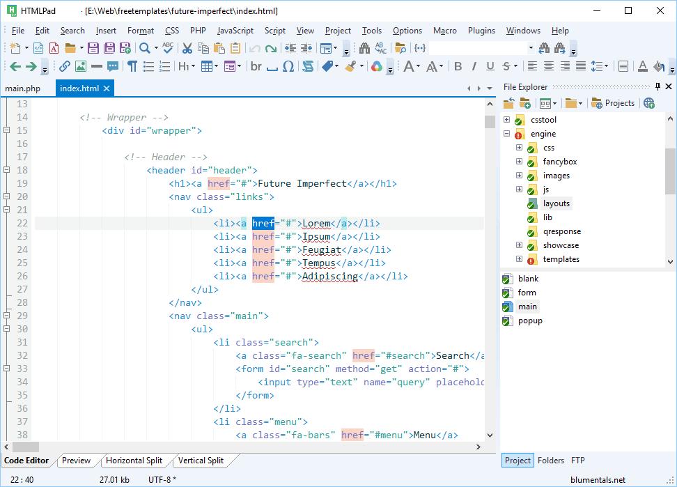 HTMLPad latest version
