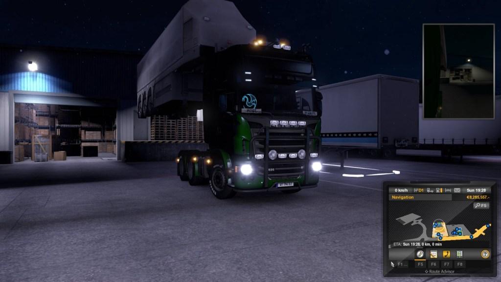 Euro Truck Simulator windows