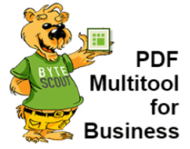 ByteScout PDF Multitool Business