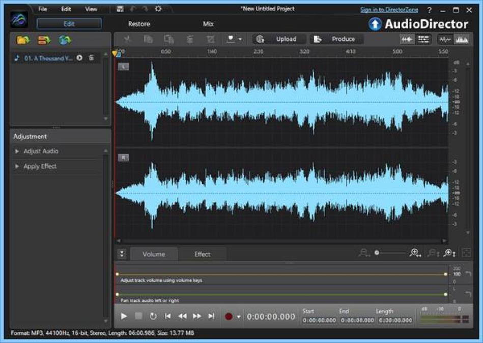 CyberLink AudioDirector Ultra windows