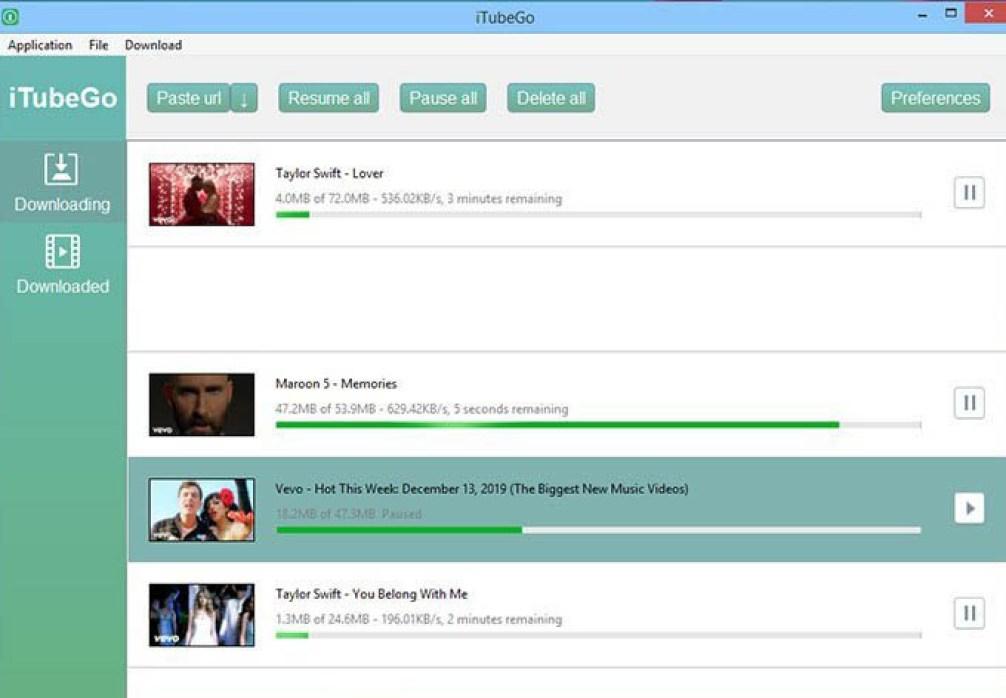 iTubeGo YouTube Downloader latest version