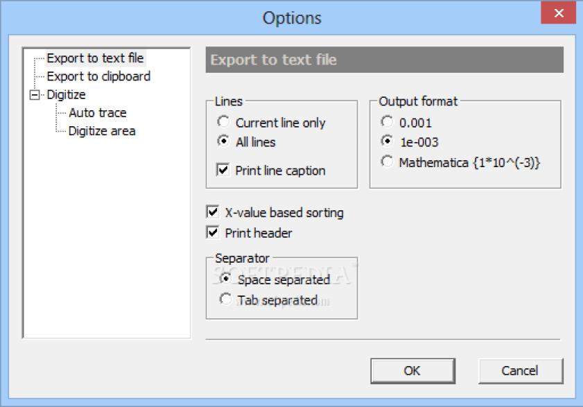 GetData Graph Digitizer latest version