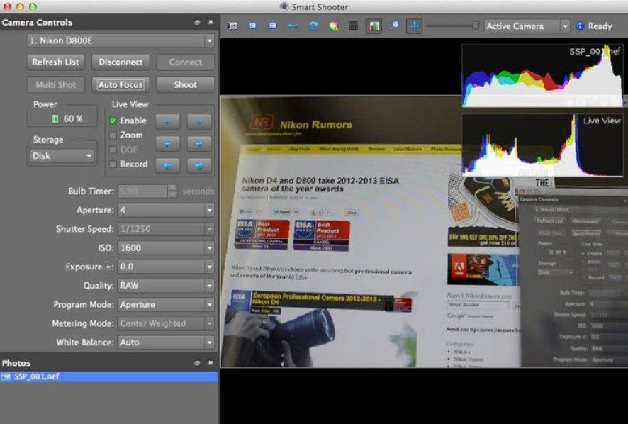 Nikon Camera Control Pro latest version