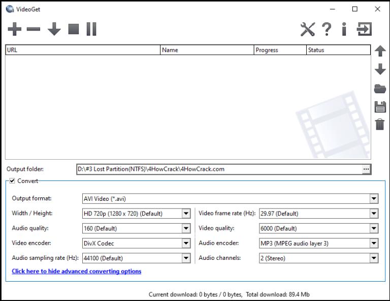 VideoGet windows
