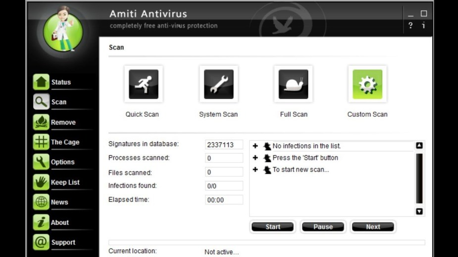 Amiti Antivirus latest version