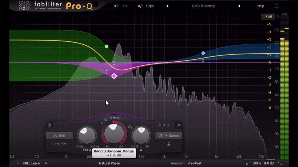 FabFilter Pro Q windows