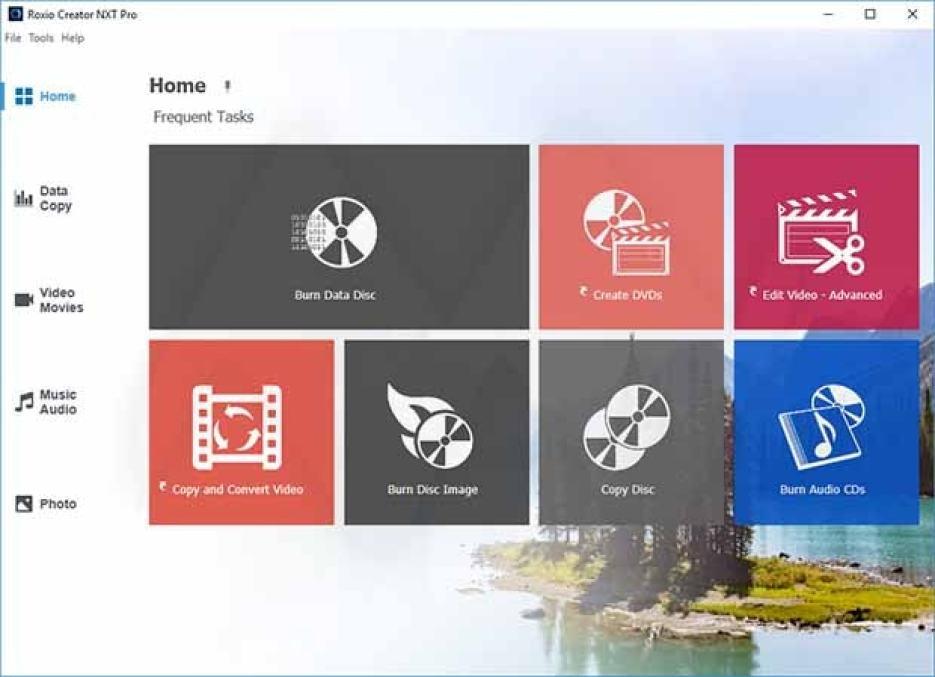 Roxio Creator NXT Pro windows