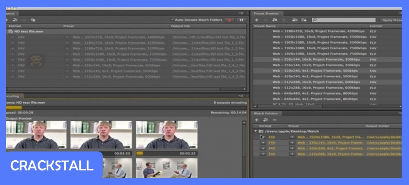 Adobe Media Encoder CC 2018 v12.0.1.64 + Portable-cracked software for pc