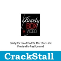 Beauty Box video for Adobe After Effects and Premiere Pro software crack