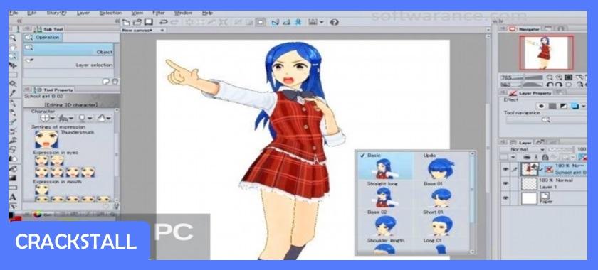 Clip Studio Paint EX v1.6.3 – 32 bit / 64 bit + Materials-pc crack software