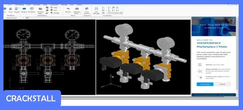 Dassault Systems DraftSight Premium 2019-pc crack software