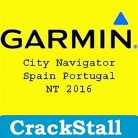 Garmin City Navigator Spain Portugal NT 2016 cracked software