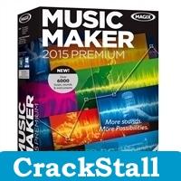 MAGIX Music Maker 2015 Premium ISO crack softwares