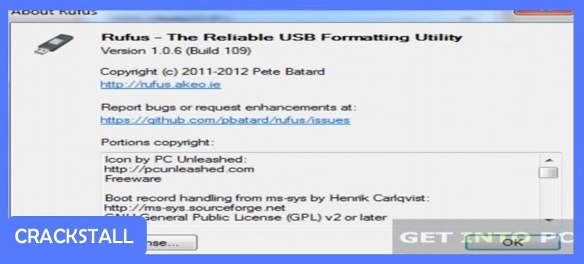 Rufus-software crack