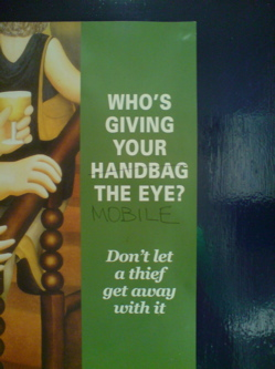 handbag no mobile